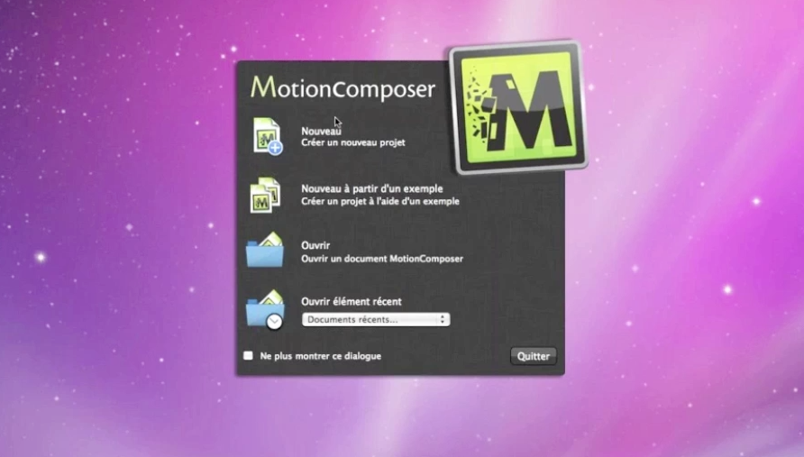 Discover Motion Composer, Flash & HTML5 creation tool